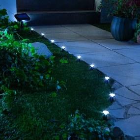 Solárne záhradné osvetlenie Cono, 10 ks