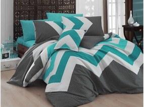 Obliečky s plachtou Kendy Blue, 200 × 220 cm