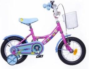 """Neuzer 12"""" detský bicykel pre dievčatá BMX CUPCAKE ružová 2018"""