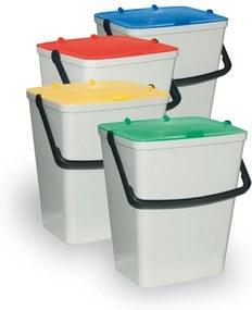 Artplast Súprava plastových odpadkových košov 4 x 15 l