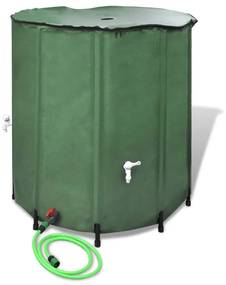vidaXL Skladacia nádrž pre dážďovú vodu 500L