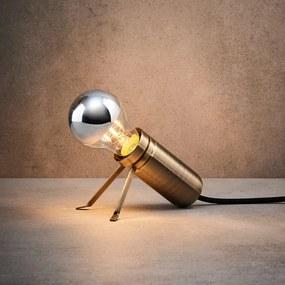 Butlers LUMOS Stolová lampa - medená