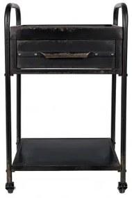 Pojízdný odkládací stolek VIGO White Label Living 7900009