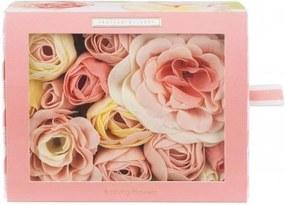 HEATHCOTE & IVORY Mydlové kvety do kúpeľa Blush Rose