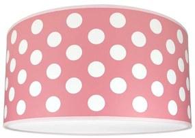 Lampdar Detské stropné svietidlo DOTS PINK 2xE27/60W/230V ružová SA0657