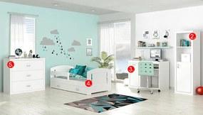 Detská izba Filip COLOR MINI - biela