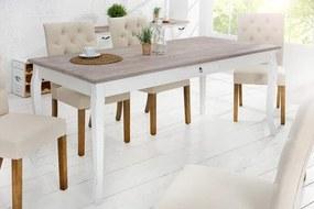 Drevený vidiecky jedálenský stôlMaison Belle Affaire 90 x 180 cm - 20 mm »
