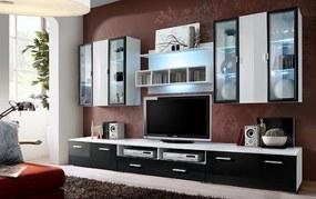Obývacia stena-ASM-QUADRO-20 WZ QU(s osvetlenim)