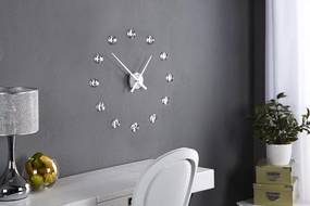 Bighome - Nástenné hodiny ALDEN s kryštálmi