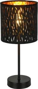Globo 15264T Stolné Lampy čierny čierny 2 x E14 max. 40W 35 x 15 x 15 cm