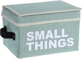 Home collection Úložný box s víkem - zelená - Large things 28x41x28 cm