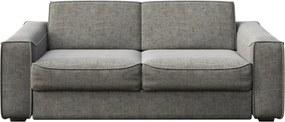 Sivá rozkladacia pohovka MESONICA Munro, 224 cm