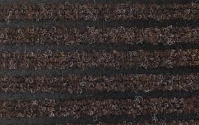 Vebe Floorcoverings - rohožky Čistící zóna Fiona 97 hnědá - Rozměr na míru cm