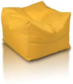 INTERMEDIC Sedací vak Taburetka CUBO, Polyester - NC04 - Žltá slnko (Polyester)