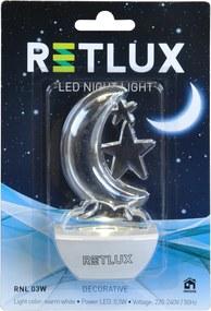 nočné svetlo mesiac RETLUX RNL 03W