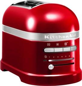 KitchenAid Hriankovač na 2 plátky Artisan červená metalíza