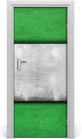 Samolepiace fototapety na dvere  Zelená múr