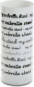 Stojan na dáždniky Versa Vintage Letter