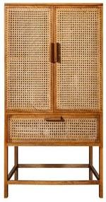 Bamboo skrinka hnedá