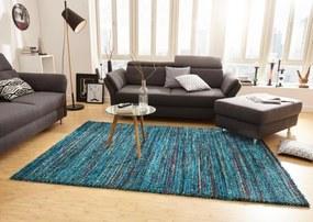 Mint Rugs - Hanse Home koberce Kusový koberec Nomadic 102691 Meliert Blau - 80x150 cm