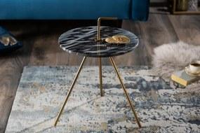 Odkladací stolík Simply Clever - 36cm mramor