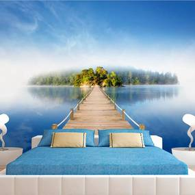 Fototapeta - Mysterious island 300x210