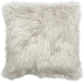 Sivý vankúš J-Line Fur
