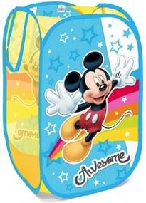 SEVEN Kôš na hračky Mickey Mouse Textil, plast, 58x36x36 cm