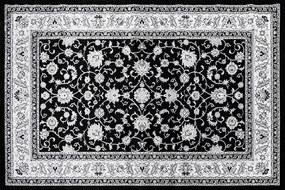 Festival koberce AKCE: 80x150 cm Kusový koberec Silkway F466A Black - 80x150 cm