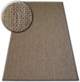 Kusový koberec Flat hnedý, Velikosti 80x150cm