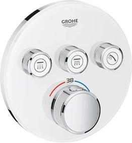Termostat Grohe Smart Control bez podomietkového telesa Moon White, Yang White 29904LS0