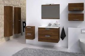 HOPA - Koupelnový nábytek Mambo zrcadlo 80 cm bílá lesklá, 800 × 622 × 20 mm (NAMA80950ZW