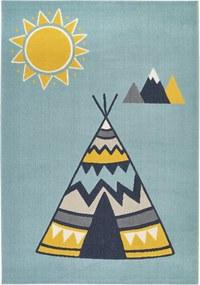 Zala Living - Hanse Home koberce Kusový koberec Vini 104602 Light-blue - 120x170 cm
