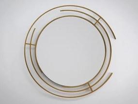 Dizajnové zrkadlo Drury gold dz-drury-gold-1425 zrcadla