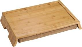 Kesper Servírovací stolík s vankúšom- bambus