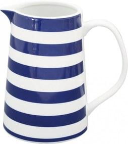 Krasilnikoff Džbán Blue Stripes