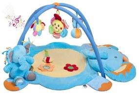 PLAYTO PlayTo Hracie deky Hracia deka s melódiou PlayTo sloník s hračkou Modrá |