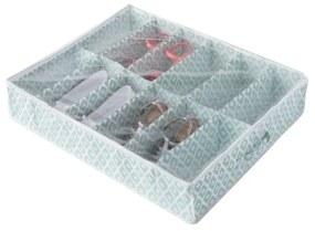 Zelený úložný box na topánky pod posteľ Compactor, dĺžka 76 cm
