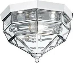 Interierové rustikálne svietidlo Ideal LUX Norma PL3 Cromo 094793