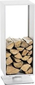 Stojan na palivové drevo Basil 30x30x80, kov matný
