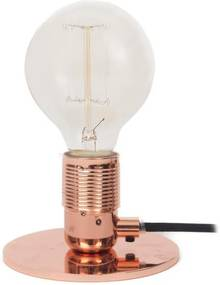 Frama Stolná lampa E27, Copper