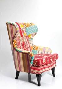 Kreslo Kare Design Patchwork Eclectic