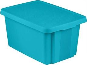 CURVER ESSENTIALS 45L úložný box 40 x 57 x 30 cm modrý 00756-656
