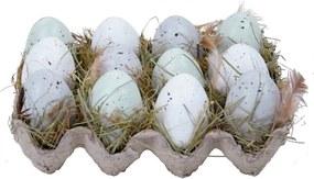 Sada 6 dekoračných vajíčok Ego Dekor