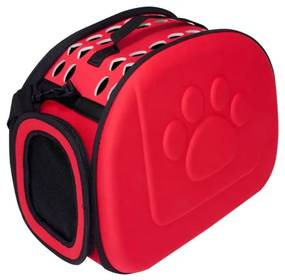 GT Prenosná taška pre mačky - červená, L81B