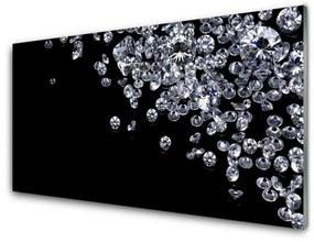 Nástenný panel Diamanty umenie 120x60cm