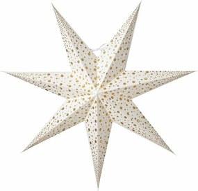 Watt & VEKE Závesná svietiaca hviezda Isadora White 60 cm