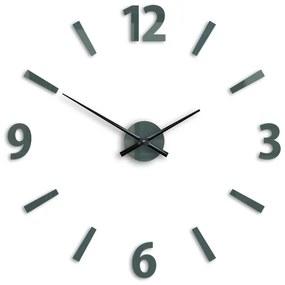 Mazur 3D nalepovací hodiny Klaus šedé