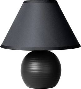 Lucide Lucide 14550/81/30 KADDY Table Lamp E14 H22 D20cm Black