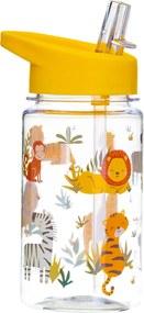 Fľaša na vodu s motívom zvieratiek 400 ml